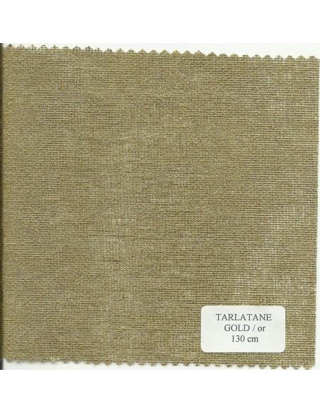 Tarlatane OR largeur 130 cm