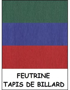 Feutrine tapis drap housse billard 2m20 x 1m80