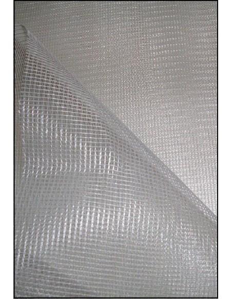 Rouleau Tissu toile MOUSTIQUAIRE blanc largeur 1m95 - 30 mètres