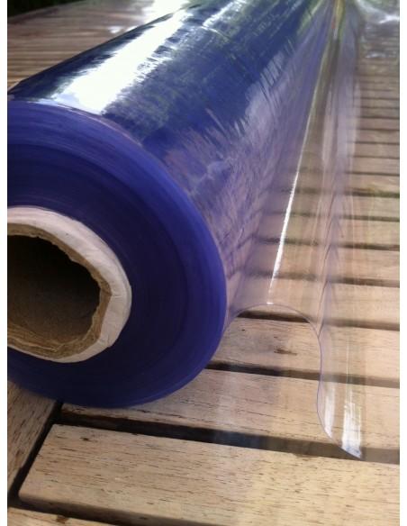 Nappe Cristal 15/100 pvc transparente au metre