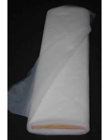 Tulle souple blanc largeur 280 300 cm