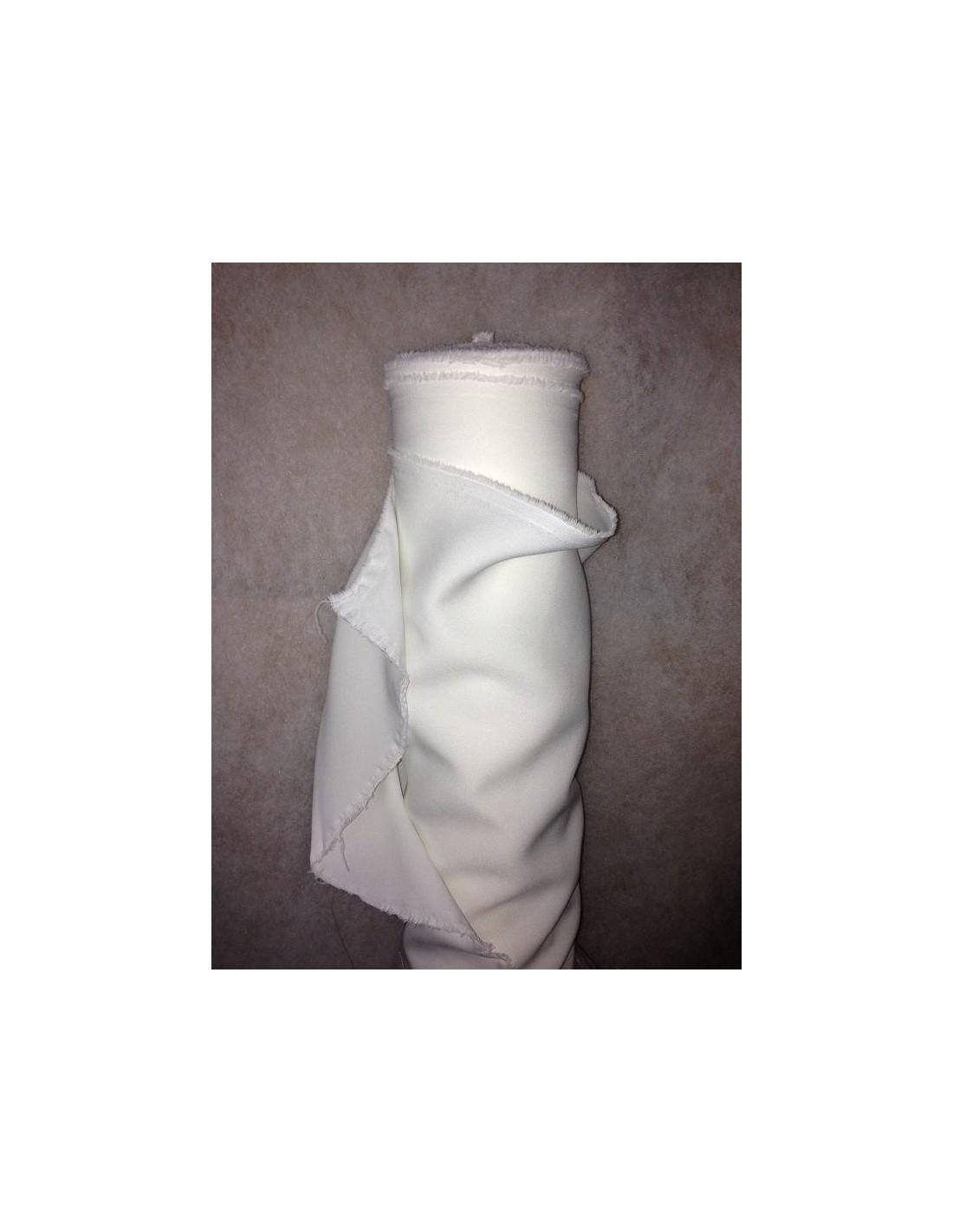 Tissus burlington au m tre tissu pas cher tissu extensible tissu aspect cr - Tissu blanc pas cher ...