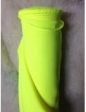 Tissus BURLINGTON jaune fluo au metre largeur 150 cm