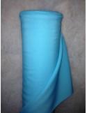 Tissus BURLINGTON bleu turquoise au metre largeur 150 cm