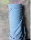 Tissus BURLINGTON bleu ciel clair au metre largeur 150 cm
