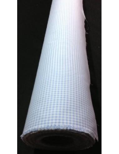 Tissus VICHY BLEU 100 % coton
