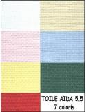 AIDA 5.5 coupon 40x50cm