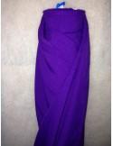 Tissus BURLINGTON violet au 50  metres largeur 150 cm