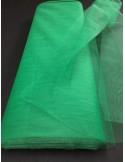 Tulle rigide vert sapin large 75 cm au metre EN71-2 non feu