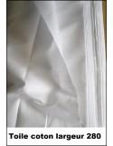 Tissus coton largeur 280 cm