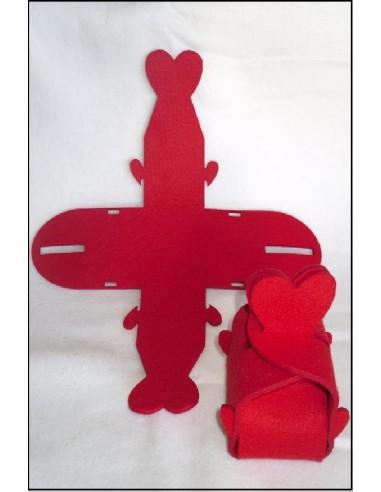 Figurine feutrine COEUR