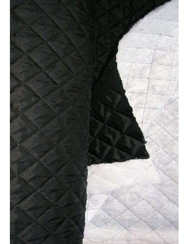 DOUBLURE MATELASSEE noir largeur 140 CM