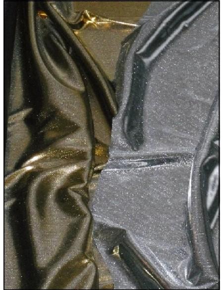 Tissus LASER or et argent large 115cm