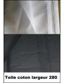 Tissus coton largeur 280
