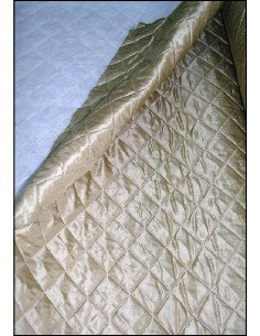 DOUBLURE MATELASSEE beige au metre largeur 150 cm