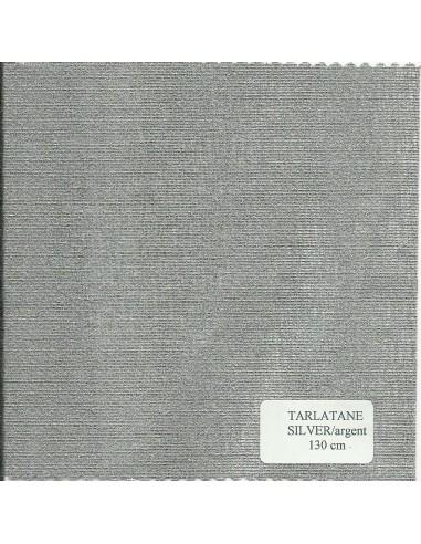 Tarlatane ARGENT largeur 130 cm