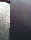 Toile coton Noir thermocollant rigide renfort sac au mètre
