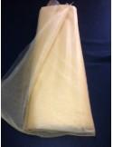 Tulle souple or largeur 280 300 cm au mètre