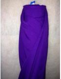 Tissus BURLINGTON violet au metre largeur 150 cm