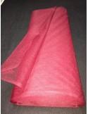 Tenture Tulle rigide bordeaux large 75 cm au metres non feu EN71-2