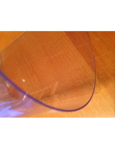 Nappe Cristal epaisse 80/100 pvc transparente au metre largeur 140 cm