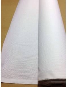 AIDA 5.5 blanc au metre largeur 160 cm