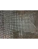 Tissus MAILLE lurex facettes pailleté paillettes