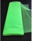 Tulle souple VERT ANIS NON FEU EN71-2 largeur 280 cm au metre