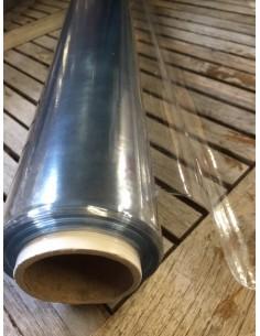 Nappe Cristal 10/100 0.10 pvc transparente au metre