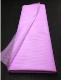 Tulle rigide parme large 150 cm au metre EN71-2 non feu