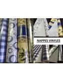 Nappe PVC vinyle CERCLES
