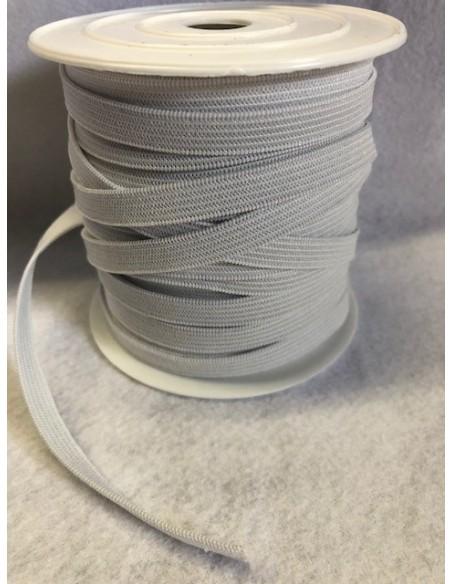 Elastique Plat Blanc Largeur 8 mm Souple rouleaux de 25 metres