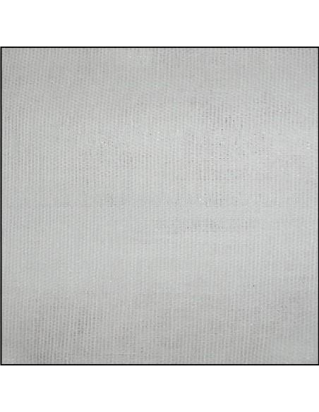 PERCALE coton thermocollante blanc et noir largeur 80 cm