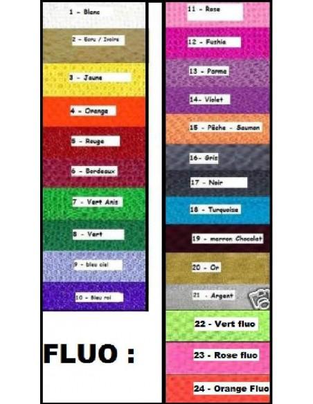 Tulle rigide au 40 metres 24 coloris