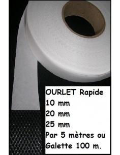 OURLET RAPIDE par 5 mètres : 10mm 20mm 25mm