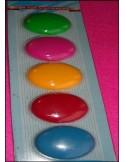 Magnet aimant stickers GROS ROND frigo tableau par 5