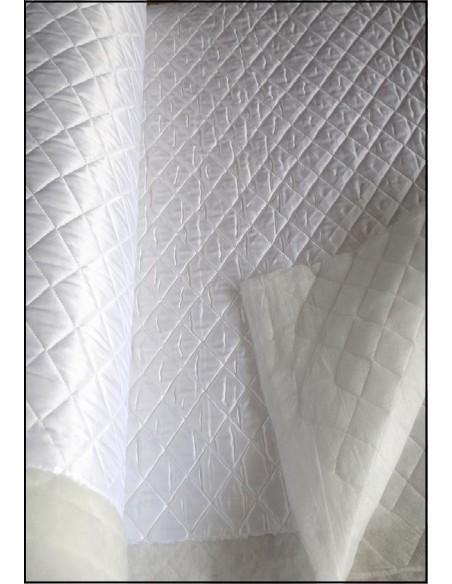 DOUBLURE MATELASSEE blanc au mètre largeur 150 CM