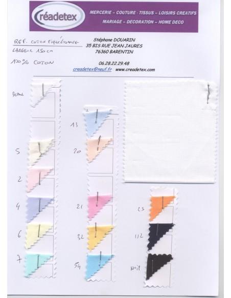 Pique de coton losange largeur 150 cm