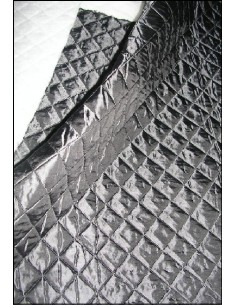 DOUBLURE MATELASSEE grise largeur 140 CM